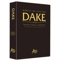 Bíblia De Estudo Dake Dicionário Exp + Bíblia Leitura Diária
