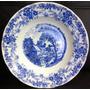Prato Porcelana Real Decorativo Antigo