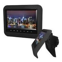 Dvd Encosto Cabeça Com Tela Touch Screen De 7 Polegadas