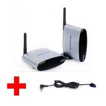 Extensor Transmissor Sem Fio Audio Video + Cabo Led Emissor