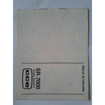 Manual Original Receiver Cce Sr 7000