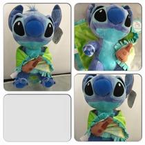 Stitch Baby Com Naninha 28cm Original Disney Parks Em Sp
