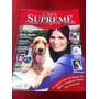 Revista Cães Supreme Capa Rara Malu Mader Gata Atriz Globo