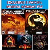 5 Jogos Mortal Kombat Ps2 Exclusivo! Confira!