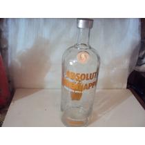 Vodka Absolut Oriente Apple C R Vazia 1 Lt {orgulhodoml2]*