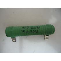 Resistor Fio 25w 4r7