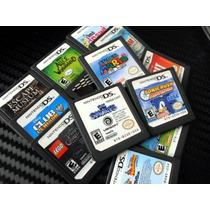 Combo Nintendo Ds 10+3 Cartões Originais Frete Grátis!