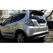 Lançamento ! Aerofolio Honda New Fit Design Esportivo !