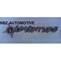 Emblema Adesivo Adventure (grande) - Fiat - Nbz