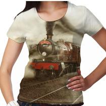 Camiseta Harry Potter Hogwarts Express Feminina