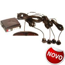 Sensor Estacionamento 4 Pontos Preto Grand Siena Idea Linea-