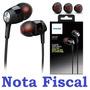Fone De Ouvido Intra-auricular Philips She8000 Profissional