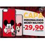 Capa Case Celular Mickey Malvado Minnie Dedo Mau Capinha