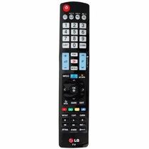 Controle Remoto Para Tv Lcd Led 3d Akb73756504 Lg Original