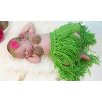 Conjunto Newborn Modelo Havaiana - Fantasia De Carnaval Bebê