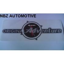 Emblema Adesivo Original Adventure (grande) - Fiat - Nbz