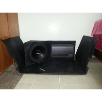 Subwoofer Bomber 12 + 4 Pioneer 6986 + Módulo Pyramide1000w
