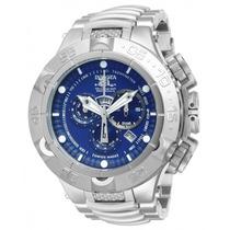 Relógio Invicta 12885 Subaqua Noma V Prata Azul Frete Grátis