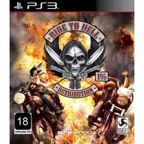 Jogo Ride To Hell Ps3 Midia Fisica Moto Nota Fiscal