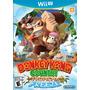 Jogo Wii U Donkey Kong Country Tropical Freeze 100% Original