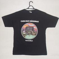 Camiseta Casa Das Máquinas, Tamanho P, Peça Única