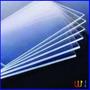 Chapa Acrilico Transparente 20x20cm 2mm / Envio Imediato *
