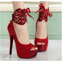 Lindo Sapato Feminino Salto Alto Importado Frete Grátis!!!!