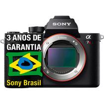 Sony A7rii Grava 4k Interno [ Nota Fiscal+ 3 Anos Garantia]