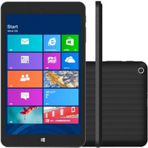 Tablet Qbex Tx280i Preto 16gb Quad Core 1.3ghz 8