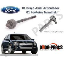 Kit Braço Axial + Ponteira Terminal Fusion 06/09 - 1ª Linha