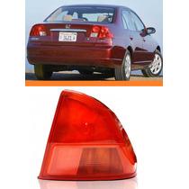 Lanterna Traseira Honda Civic 2001 2002 Canto Lado Direito