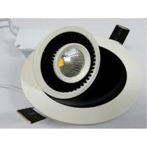 Spot Luminária Led 5w Circular De Embutir Direcionável 90º