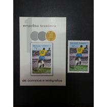 Milésimo Gol Do Pelé (bloco + Selo)/1970