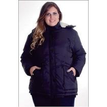 Jaqueta Nylon Plus Size