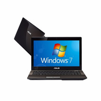 Notebook Asus K43u-vx015o Amd Ram 2gb Hd 320gb Led 14 Wind 7