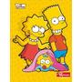 Caderno The Simpsons 1 Materia 96 Folhas