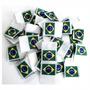 Etiqueta Bandeirinha Do Brasil