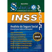 Apostila Inss - Analista Do Seguro Social - Qualquer Área
