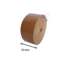Fita Adesiva Papel Kraft Gomada - Medida 70 Mm - 5 Unidades