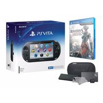 Psvita Ps Vita Wi-fi Slim + Game Assassins Creed Iii 3 + Kit