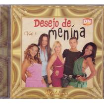 Cd Desejo De Menina Moldura Vol.3 Original + Frete Grátis