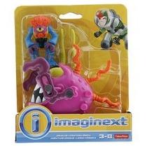 Fisher-price Imaginext Criatura Iônica E Lesma Cósmica