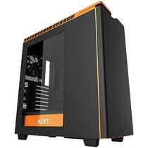 Gabinete Nzxt Mid Tower H440 Matte Black Gloss/laranja Ca-