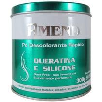 Descolorante Em Pó Amend Queratina+silicone 300 Gramas