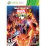 Jogo Lacrado Ultimate Marvel Vs Capcom 3 Xbox 360