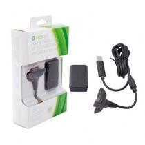 Bateria Play & Charge Carregador Controle Xbox 360 48.000mah