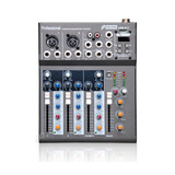 Mesa Arcano Am-l4 Fx Com Efeito 4 Canais E Phantom Power