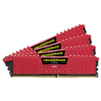 Mémoria Corsair Ddr4 16gb 3000mhz Vengeance Lpx (4x4gb) Red