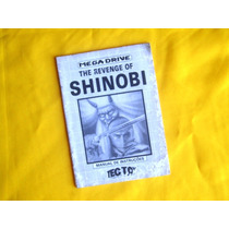 Manual Shinob The Revenge Of - Tec Toy - 1989