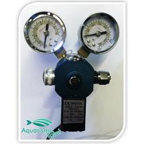 Válvula Dupla Solenóide Co2 Macro Aqua Aquário Plantado